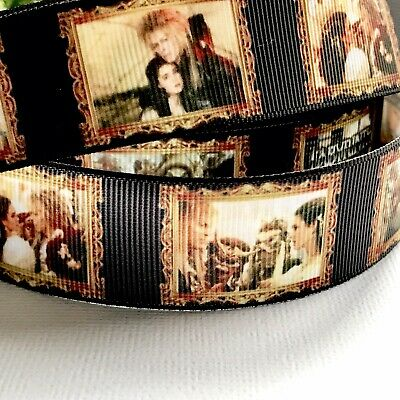 Labyrinth David Bowie 1 Metre 25mm Crossgrain Ribbon/ Craft/Hair Ties /Lanyards