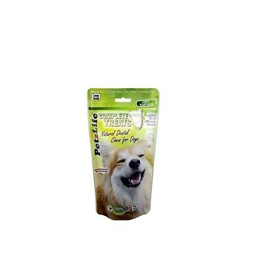 Complete Treats Natural Dental Chews for Dogs Large 8oz
