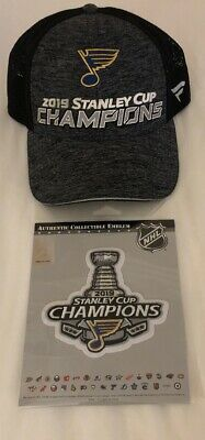 St. Louis Blues Fanatics 2019 Stanley Cup Champions Locker Room HAT PATCH
