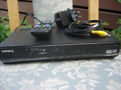 Topfield TRF-2100 HDD PVR twin digital tuner set top box with remote