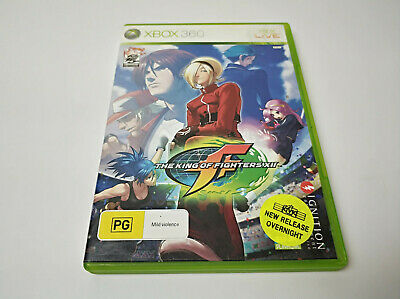 Mint Disc Xbox 360 The King of Fighters XII Free Postage From Melbourne