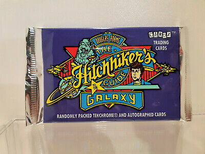 The Hitchhikers Guide to the Galaxy 1994 Trading Cards sealed Pack