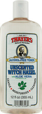 Unscented Witch Hazel with Aloe Vera Formula, Thayers, 12 oz