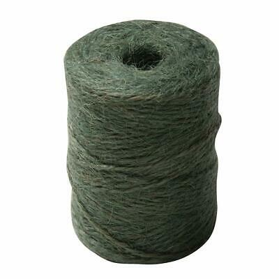 Silverline Garden String 100m Natural and Biodegradable for All Plant Green Colo