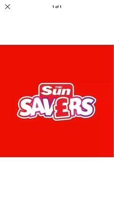 THE SUN SAVERS CODES 100% SELLER July 20th Saturday