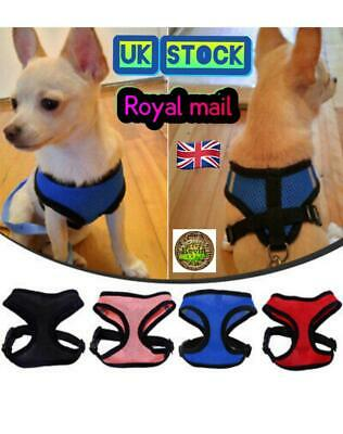 Pet Dog Soft Adjustable Harness Puppy Reflective Comfortable Vest For Chihuahua