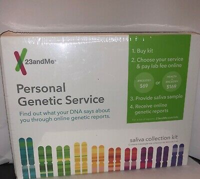 23 and Me Personal Genetic Service Saliva Collection Kit (Service Extra) 23andme