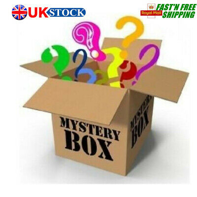 Box! Electronics,Clothing,Phone Parts,Beauty&Health,At Least 5 Items UK
