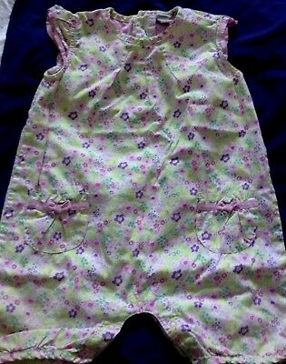 Baby clothes GIRL TU floral cotton summer romper 12- 18 months