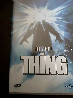 THE THING dvd de John Carpenter