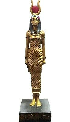 "Egypt Statue Egyptian Ancient ISIS 8"" Goddess Sculpture Collectible Decor Figure"