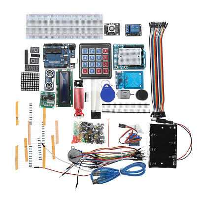 Geekcreit Starter Kits For Arduino Uno R3 - Uno R3 Breadboard And H