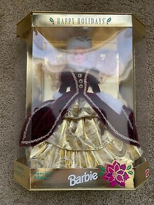 1996 Happy Holidays Barbie Special Edition NRFB! Non-Mint Box. Rare!