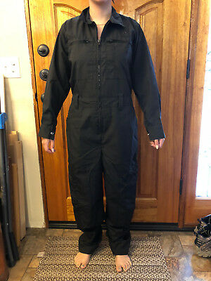DANOC Black Women's Work Jumpsuit, brand new Made in USA for State of California