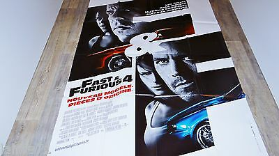 FAST AND FURIOUS 4 !  vin diesel paul walker affiche cinema cars