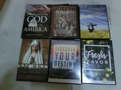 AUDIOBOOK Christian Religious Self Help lot of 31 Cd, And Dvd