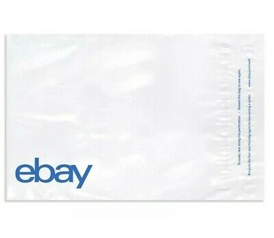 "New Edition Ebay-Branded Polymailers Poly Mailer 14.5"" x 18.5"" No Padding 200 ct"