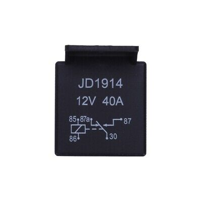 12V Volt 40A AMP 5 Pin Changeover Relay Automotive Car Motorcycle Boat Bike P6M4