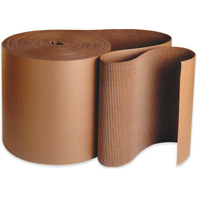 Packaging Supplies 'B' Flute Kraft Singleface Corrugated Roll USA 1 ROLL