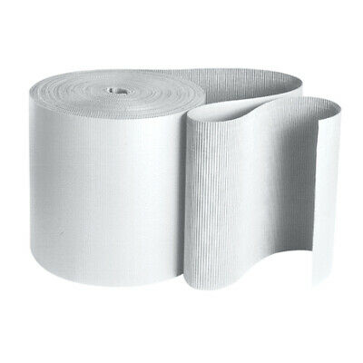 Packaging Supplies White B Flute White Singleface Corrugated Roll USA