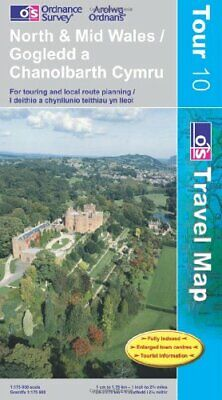 North and Mid Wales (OS Travel Series - Tourist Ma by Ordnance Survey 0319245233