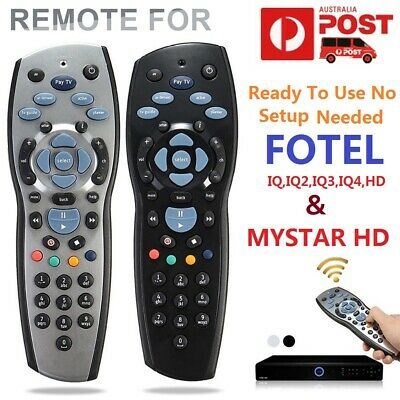 100% Genuine Foxtel iQ4 Remote compatible with iQ1  iQ2  iQ3 MyStar  MyStar2