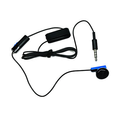 New Sony Playstation 4 PS4 Headset Earbud Microphone Earpiece Clip Original OEM