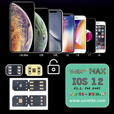 UNIVERSAL U-SIM MAX Nano Unlock Smart Activation Sim Card For iPhone