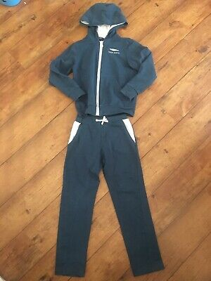 Aston Martin Tracksuit Age 8 Years Blue