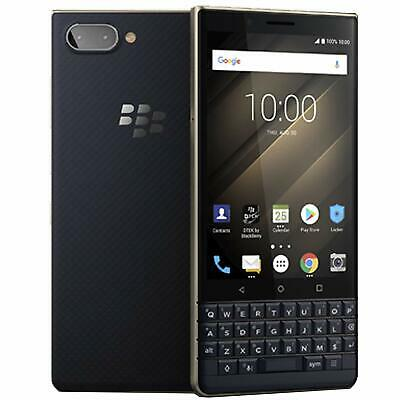 RIM Blackberry KEY 2 LE DualSim Champagne BBE100-4 64GB / 4GB QWERTY keypad NEU