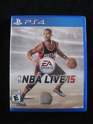 NBA Live 15 (Sony PlayStation 4) complete, excellent condition!