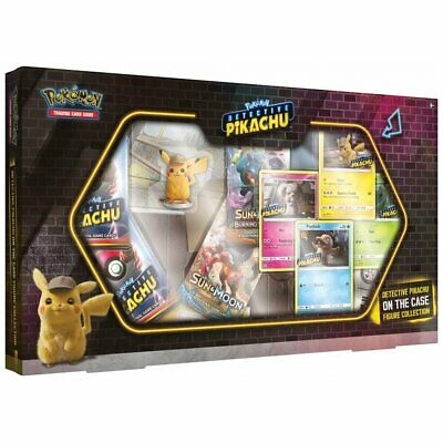 PREORDER POKEMON TCG Detective Pikachu On The Case Figure Collection