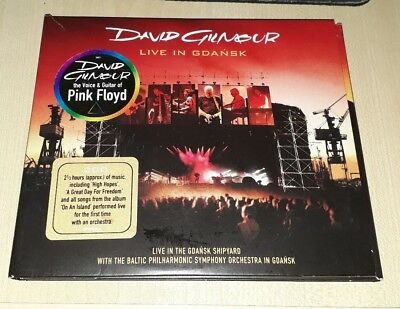 David Gilmour - Live In Gdansk - 2xCD - (Pink Floyd)