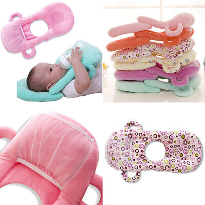 Newborn baby nursing pillow infant cotton milk bottle support pillow cushion  VB