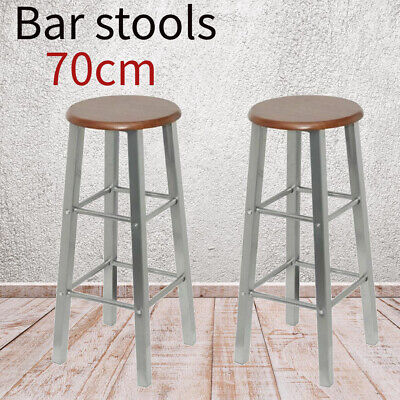 Enjoyable 2 Bar Stool Leather Pu Swivel Gas Lift Foot Rest Chair Ocoug Best Dining Table And Chair Ideas Images Ocougorg