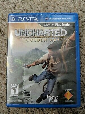 Uncharted: Golden Abyss PlayStation Vita For Ps Vita NEW SEALED