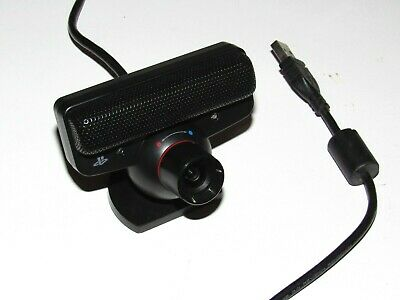 Sony Playstation 3 Move Camera Eye Motion Microphone PS3 Official Tested