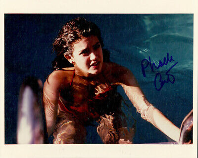 Phoebe Cates (Fast Times at Ridgemont High) signed authentic 8x10 photo COA