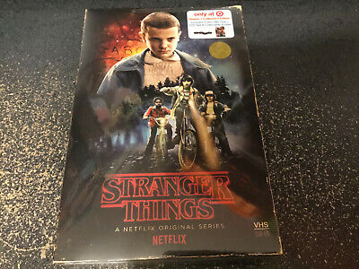 Netflix Stranger Things Season 1 4-Disc DVD/Blu-Ray Collector's Edition Box Set