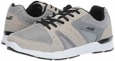 Avia AVI-EDGE II Mens 4E-WIDE Grey/Black A1545MNX.X Lace Up Memory Foam Shoes