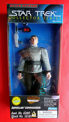 "Star Trek TNG ROMULAN COMMANDER Alien Edition Collector 9"" Figure -Playmates MIB"
