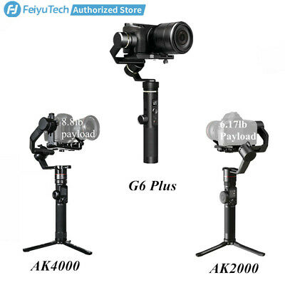 Feiyu 3-Axis Handheld Gimbal Stabilizer for Canon/Sony Mirrorless,DSLR Cameras