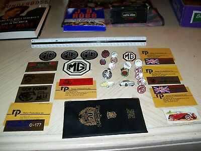 MG Lapel Pin Hat Pin Tie Tack Buttons Emblems Decals Wallet Collectible Stuff