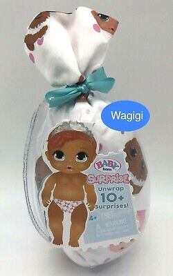 New *BABY BORN* Series 2 White Mystery Doll Unwrap 10 Surprises Boy or Girl 2019