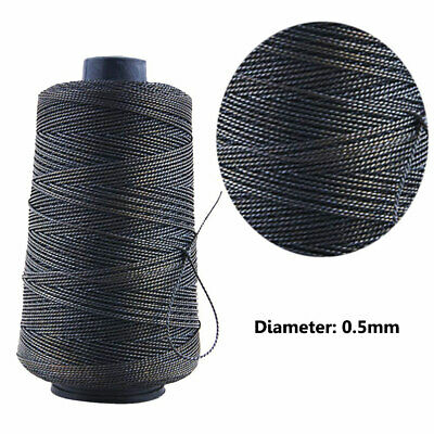 Strong Bounded Nylon Black Leather Sewing  Needle Thread for Craft Repair Shoes