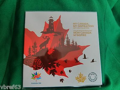 2017 Canada 150 - 5 coin set: winning coin designs - My canada my inspiration