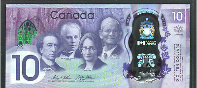 2017 Canada $10 polymer Banknote - 150th anniversary