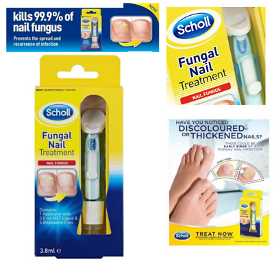 Dr.SCHOLL Fungal Nail Treatment 3.8ml HIGHLY EFFECTIVE KILL FUNGUS 99.9% Protect