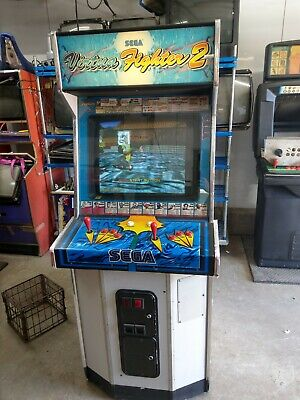 Sega's Virtua Fighter 2 Arcade cabinet machine