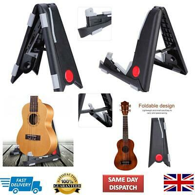 Portable Adjustable Foldable Tripod Stand Holder For Ukulele Violin Guitar